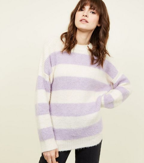e4116a1bb Striped Knitwear | Striped Jumpers & Cardigans | New Look