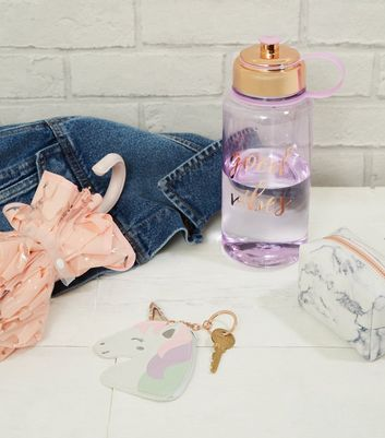 Rose Gold Good Vibes Large Water Bottle