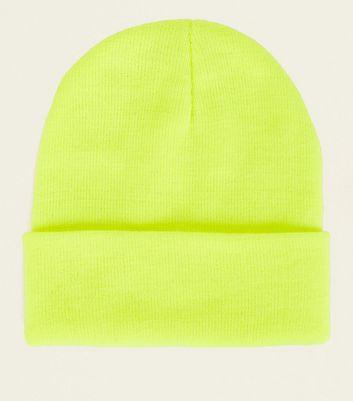 7509d28c7ff Green Neon Beanie Hat