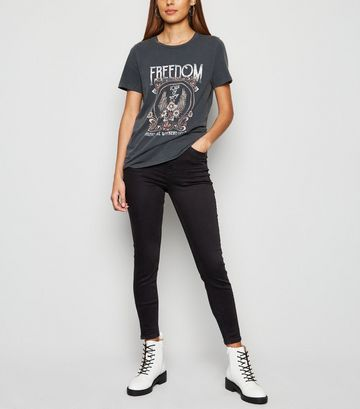 Black 'Lift & Shape' Skinny Jeans