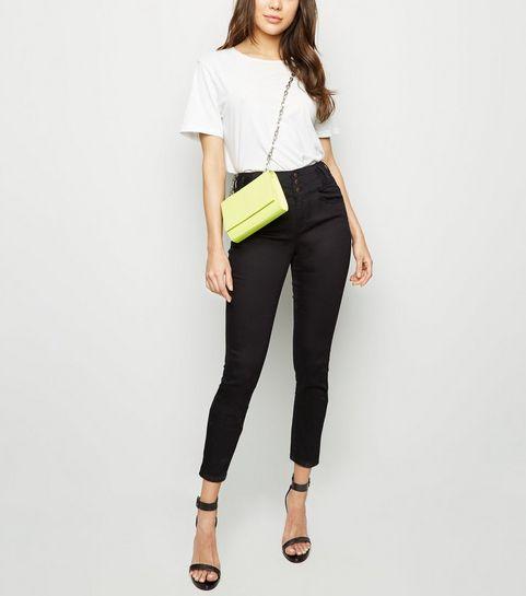 639c085e6f69 ... Black High Waist Skinny Yazmin Jeans ...