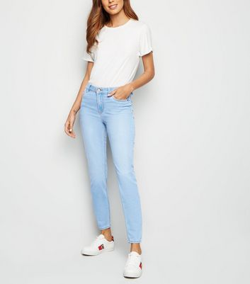 Blue Bleach Wash Super Soft Super Skinny India Jeans