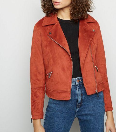 Vestes biker Femme   Blousons en cuir et simili   New Look 331c96295e10