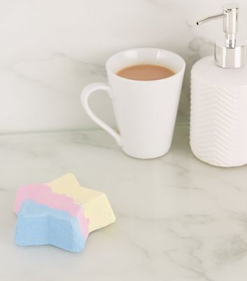 Multicoloured Star Strawberry Scented Bath Fizzers
