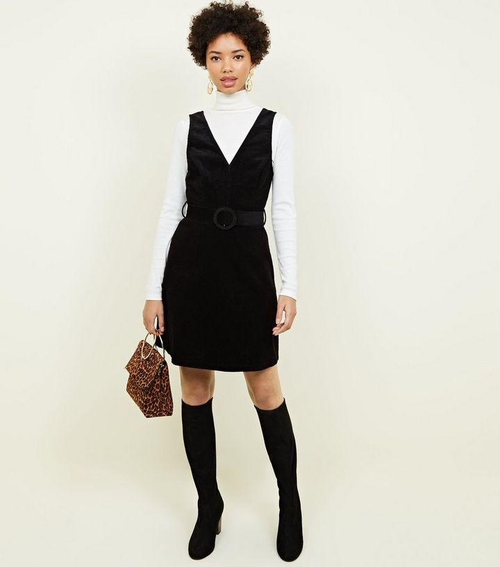 65846af4822 ... Black Corduroy Belted Pinafore Dress. ×. ×. ×. Shop the look