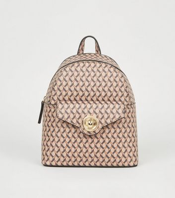 Brown Monogram Mini Backpack