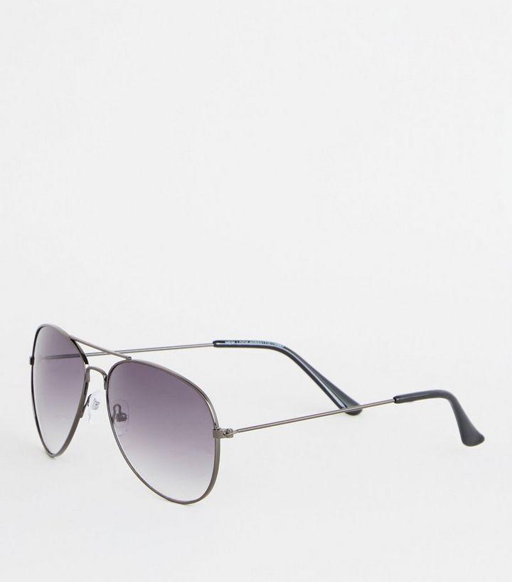 Black Pilot Sunglasses  a2b3a695899