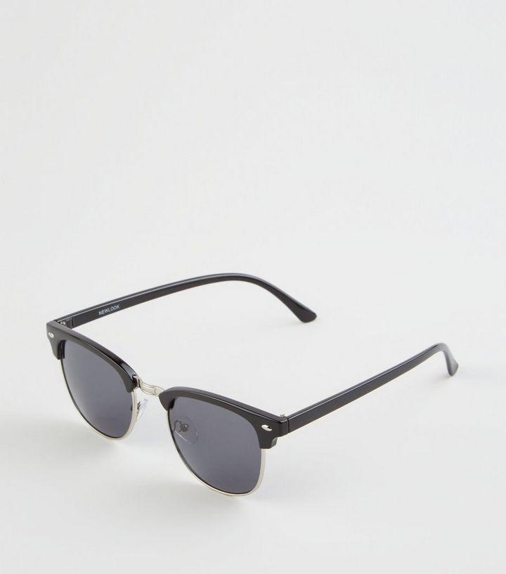 d0bf0a202a Black Square Frame Sunglasses