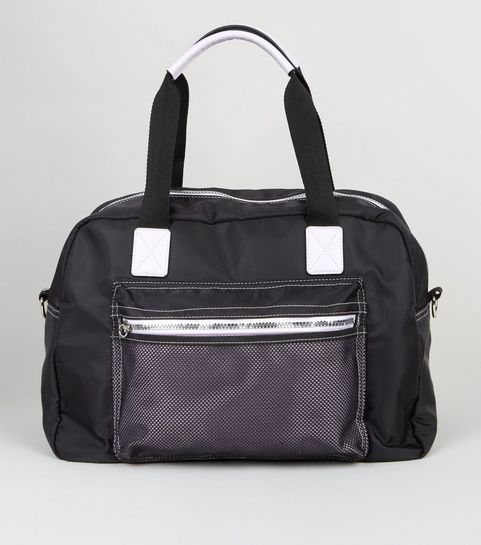 5febb2b51a9a Black Holdall Sports Bag · Black Holdall Sports Bag ...