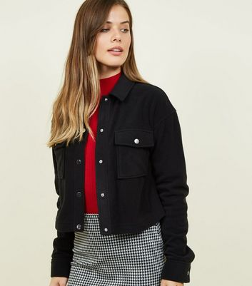Black Fleece Utility Jacket