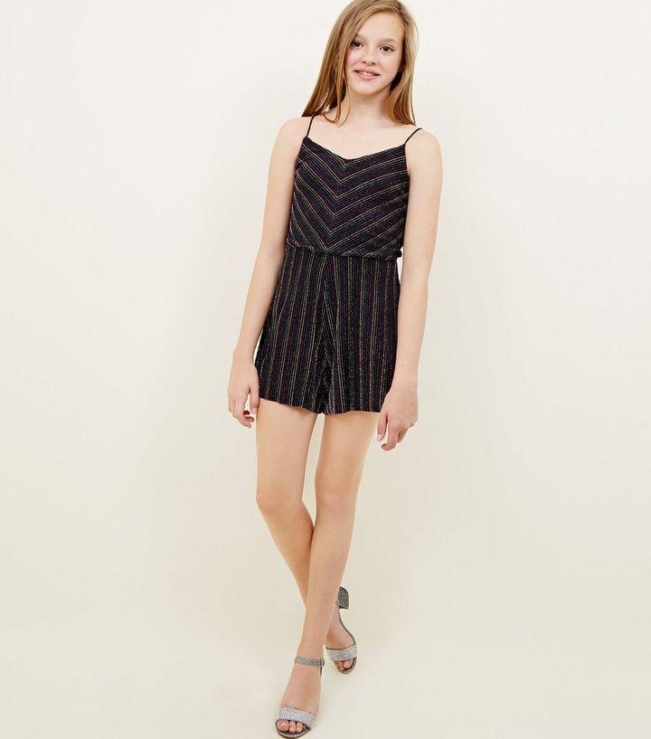 2f36cd11912 ... Girls Rainbow Glitter Stripe Playsuit. ×. ×. ×. Shop the look