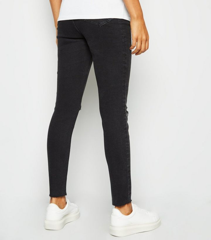 b48e8d3fb0d5c ... Maternity Black Ripped Knee Under Bump Skinny Jeans. ×. ×. ×. Shop the  look