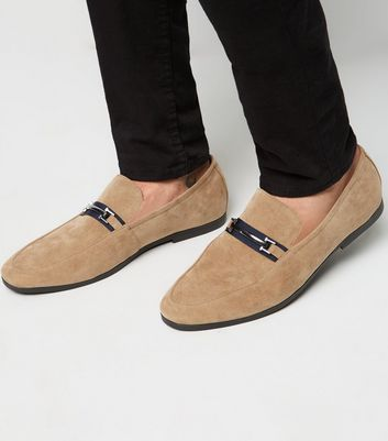 Stone Tape Bar Front Loafers