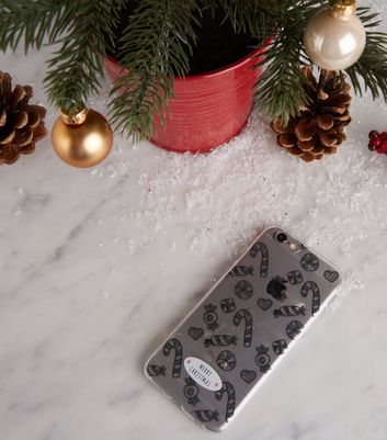 Clear Christmas iPhone 6/6s/7/8 Case