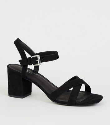 5cb808128 black-comfort-flex-low-block-heel-sandals by new-
