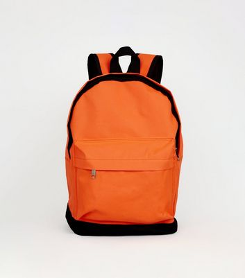 Bright Orange Neon Backpack