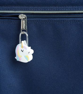 White Unicorn Travel Lock