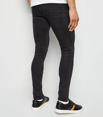 Black Washed Skinny Stretch Jeans Add to Saved Items Remove from Saved Items
