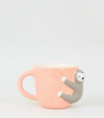 Céramique Sloth poignée de forme tasse