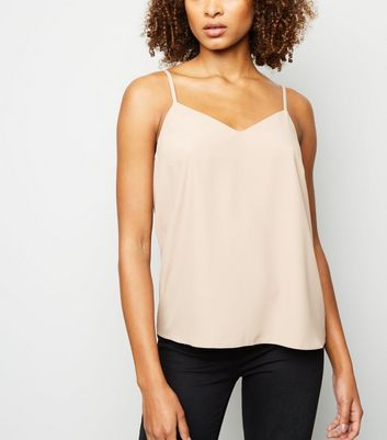 Camel Cross Back Cami