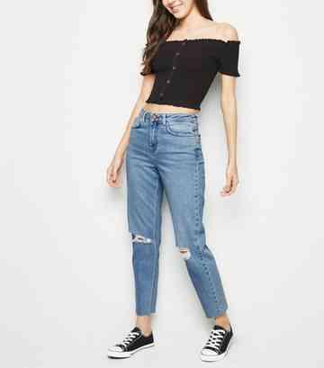 1c11240ee24 Women's Mom Jeans | Women's High-Waist Mom Jeans | New Look