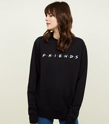 Black Friends Logo Sweatshirt