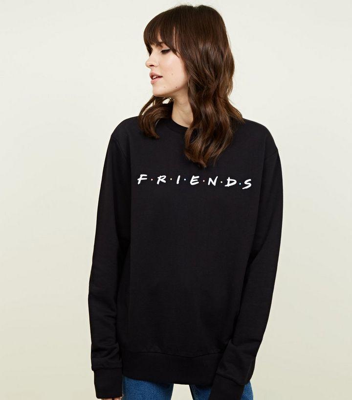 686f37ad15 Black Friends Logo Sweatshirt