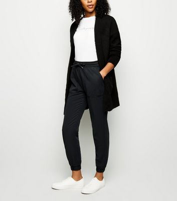 Black Denim Joggers by New Look