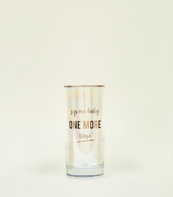 Clear Sip Me Baby One More Time Tumbler Glass