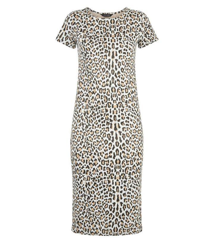 f165b08e345 ... Leopard Jacquard Midi Dress. ×. ×. ×. Shop the look