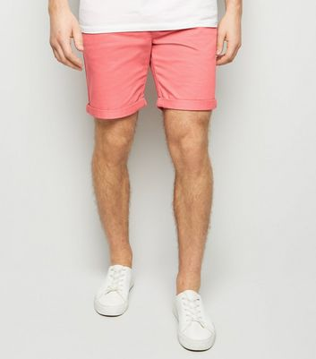 Chino-Shorts in Mittelrosa