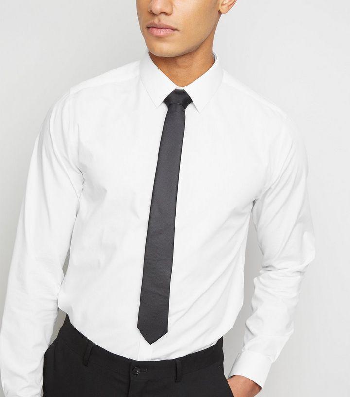 lowest price 2a222 e3c53 Schwarze, schmale Krawatte in Glanzoptik Für später speichern Von  gespeicherten Artikeln entfernen