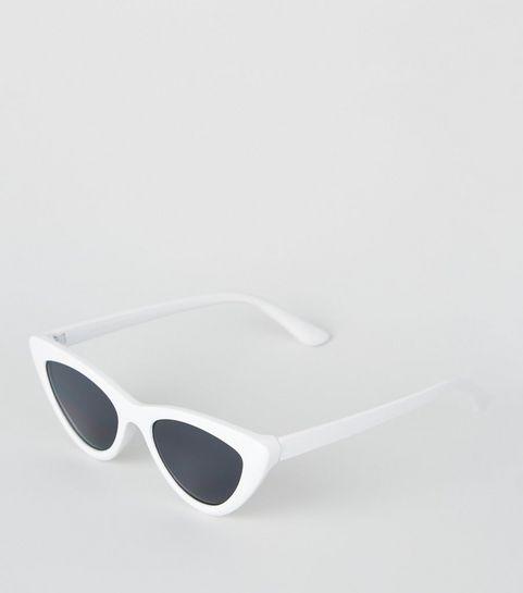 24dfb2baf41 White Cat Eye Sunglasses · White Cat Eye Sunglasses ...