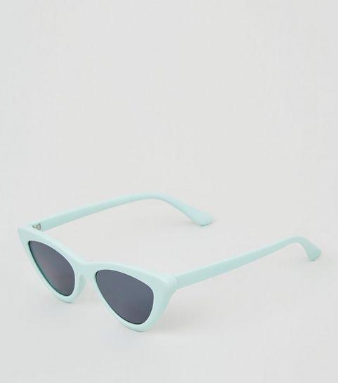 534e4475cf ... Mint Green Cat Eye Sunglasses ...