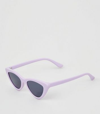 Lilac Cat Eye Sunglasses