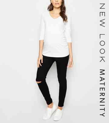 bfd744df70106 Maternity Jeans | Maternity Jeggings & Over the Bump Jeans | New Look