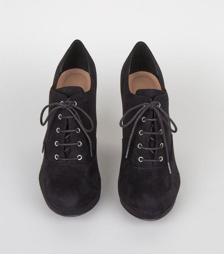 ... Black Suedette Lace Up Shoe Boots. ×. ×. ×. Shop the look 49a1757f8