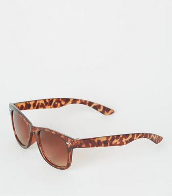 Girls Dark Brown Faux Tortoiseshell Sunglasses