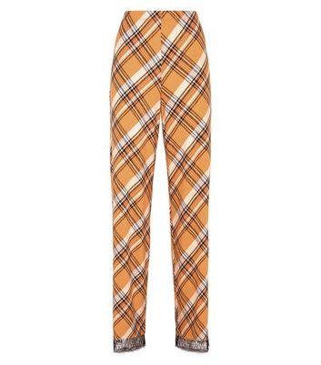 01f8083d0d Tall Mustard Check Pyjama Trousers