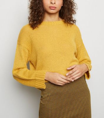 Mustard Knitted Jumper