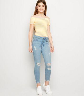 Später Girls Für Entfernen Von Jeans Speichern Skinny Artikeln – ZartblaueZerrissene Gespeicherten rodWQxBeC