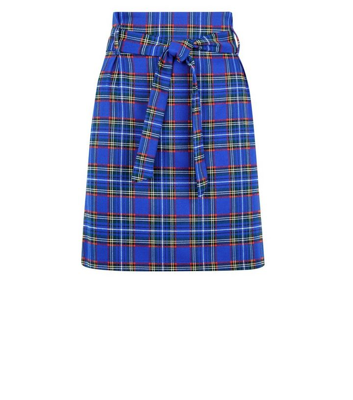 018b14c60c ... Blue Check Paperbag Skirt. ×. ×. ×. Shop the look