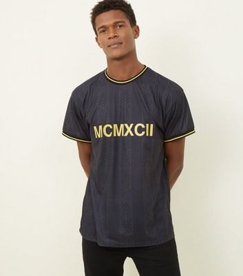 Black Tipped MCMXCII Logo T-Shirt