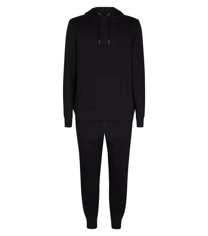 764289ce Black Hoodie and Joggers Tracksuit Add to Saved Items Remove from Saved  Items