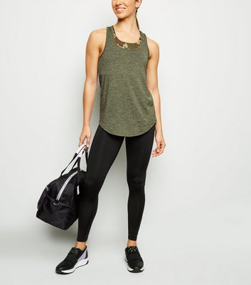 Black Sports Leggings