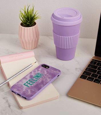 Lilac Feeling Chill Tie Dye iPhone 6/6s/7/8 Case