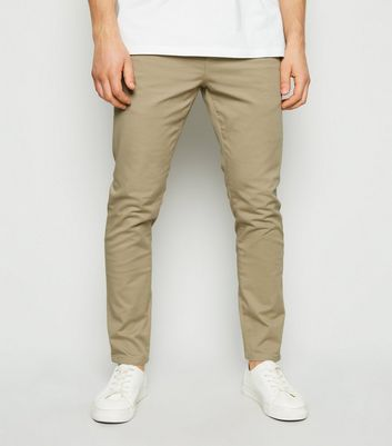Stone Skinny Stretch Trousers