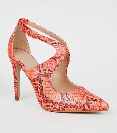 Escarpins Femme   Chaussures à talons hauts en daim   cuir   New Look 3f5e61383d66