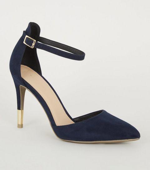 d63c9c180 Blue High Heel Shoes | Navy & Pastel Blue High Heels | New Look