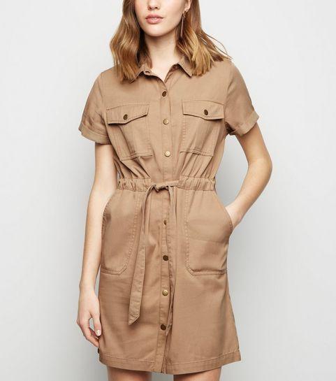 95753937ff9 Stone Lightweight Utility Dress · Stone Lightweight Utility Dress ...